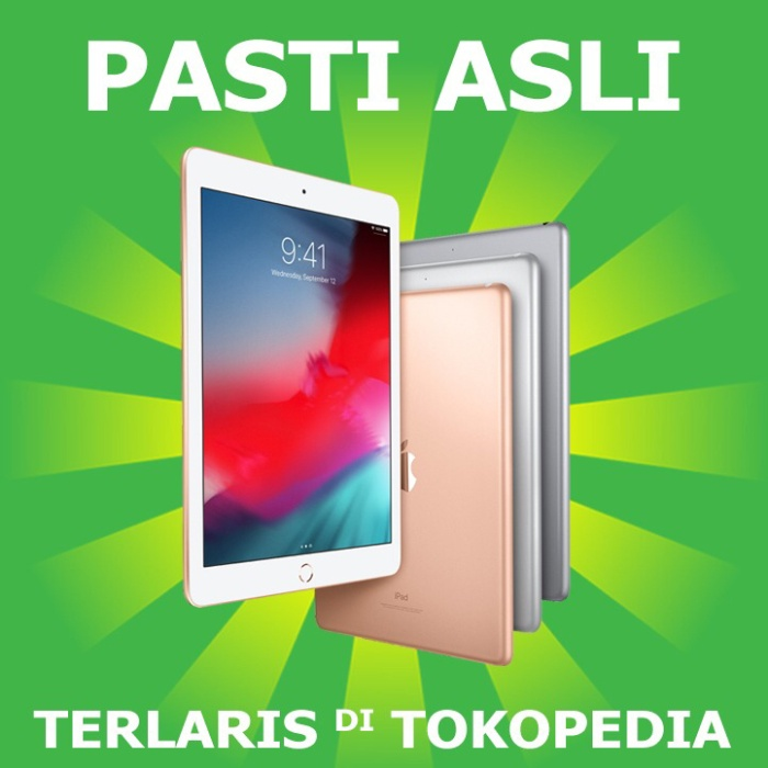 harga New ipad 6 2018 wi-fi 128gb 9.7  wifi 128 gb gold silver space gray Tokopedia.com