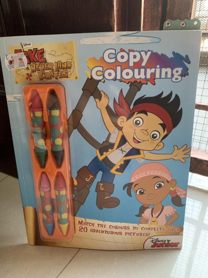 Jual Copy Coloring Book Jack And The Neverland Pirates With Crayons Jakarta Utara Thehydroliz Tokopedia