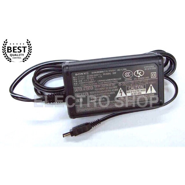 yan Generic AC Adapter Charger for Sony AC-L100B AC-L100C AC-L100D Power Supply Cord