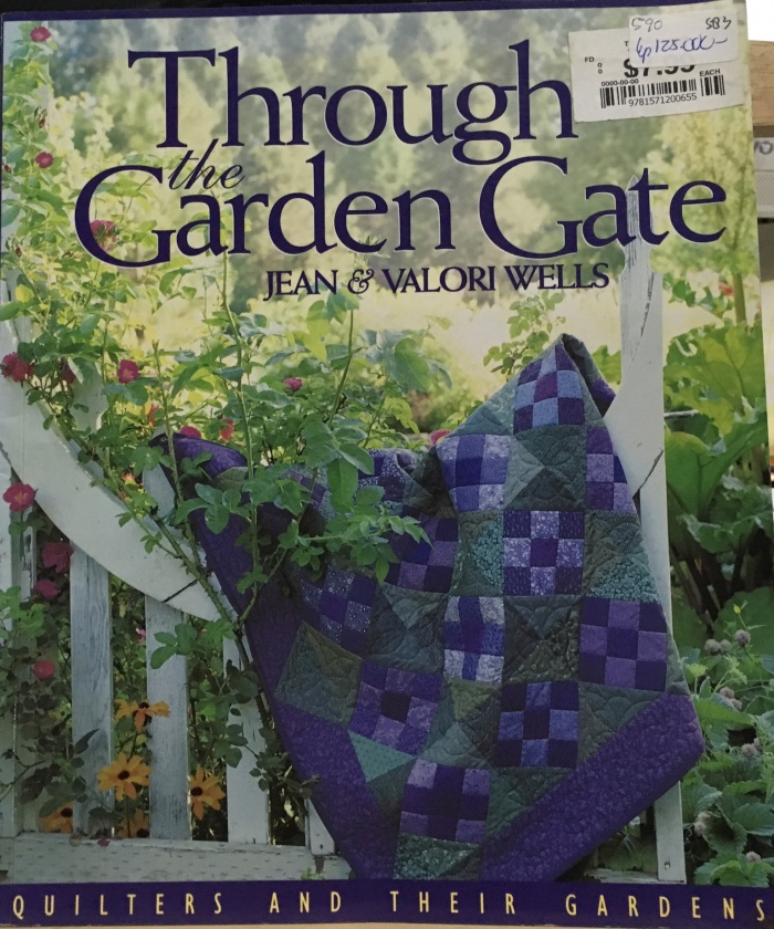Jual English Craft Books Through The Garden Gate Quilt 583