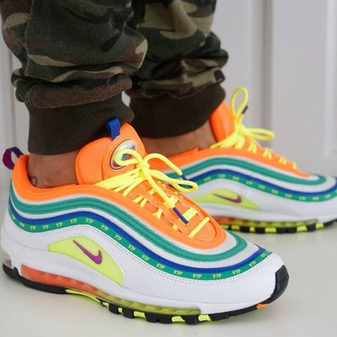 Jual Nike Air Max 97 London Summer Of Love Sneakers Sepatu Jalan Pria DKI Jakarta Speededdy101   Tokopedia