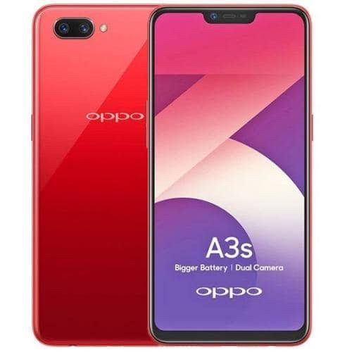 OPPO a3s 2/16gb red/purple garansi resmi oppo indonesia