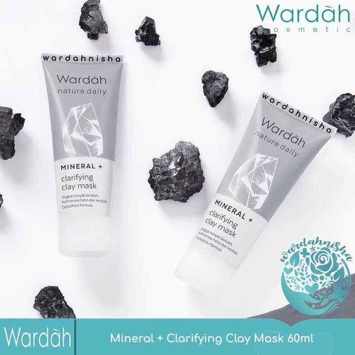 Foto Produk WARDAH NATURE DAILY MINERAL CLARIFYING CLAY MASK 60 ML dari Neoreul Misoga