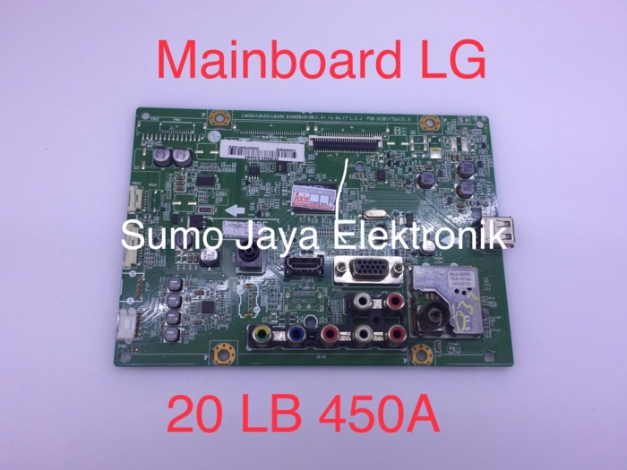Foto Produk MB 20LB450 mainboard LG 20 LB 45 modul TV 20 LB 450A mesin TV dari Sumo Jaya Elektronik