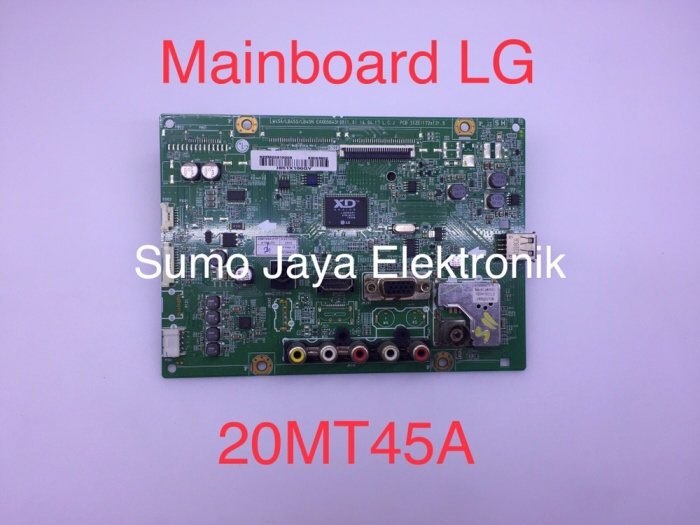 Foto Produk MB 20MT45 mainboard LG 20MT45A modul TV 20 MT 45 A mesin TV dari Sumo Jaya Elektronik
