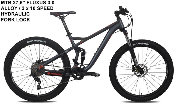 Jual Sepeda gunung MTB 27.5 PACIFIC FLUXUS 3.0 Kota