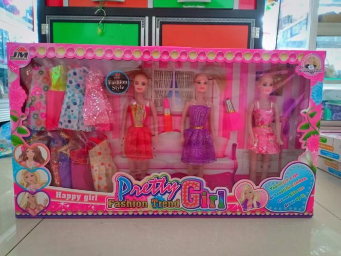 Mainan Barbie kotak Harga Rp  125 000 - Toko Mainan Anak
