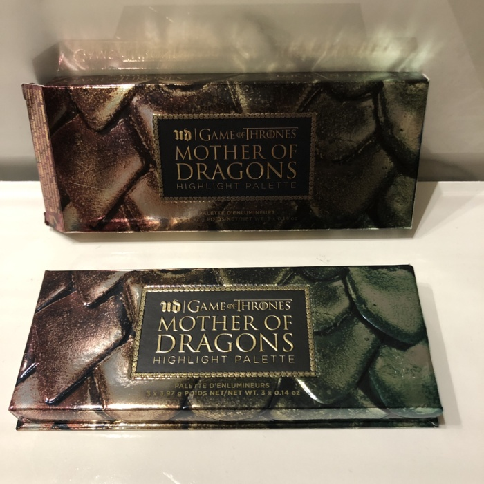 Urban decay game of thrones mother of dragons highlight palette