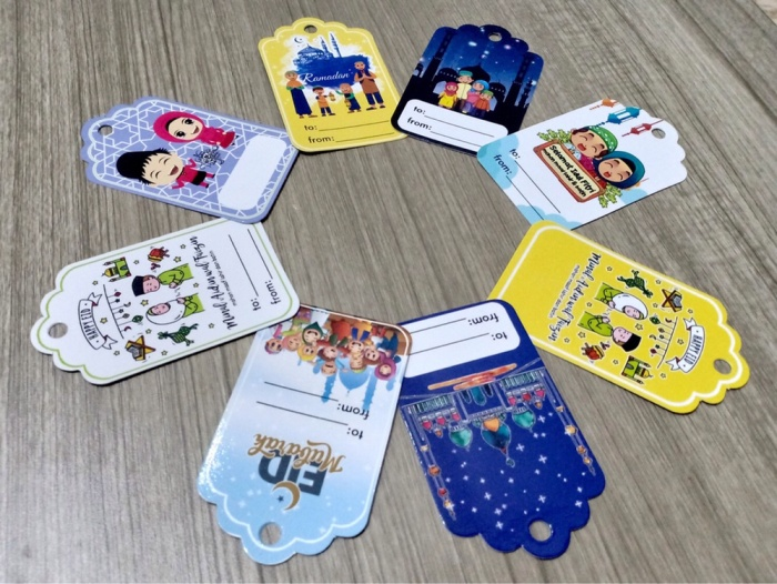 Jual Hang Tag Lebaran Idul Fitri Kartu Ucapan Eid Mubarak Label Parcel Card Kota Surabaya Chocopink Tokopedia