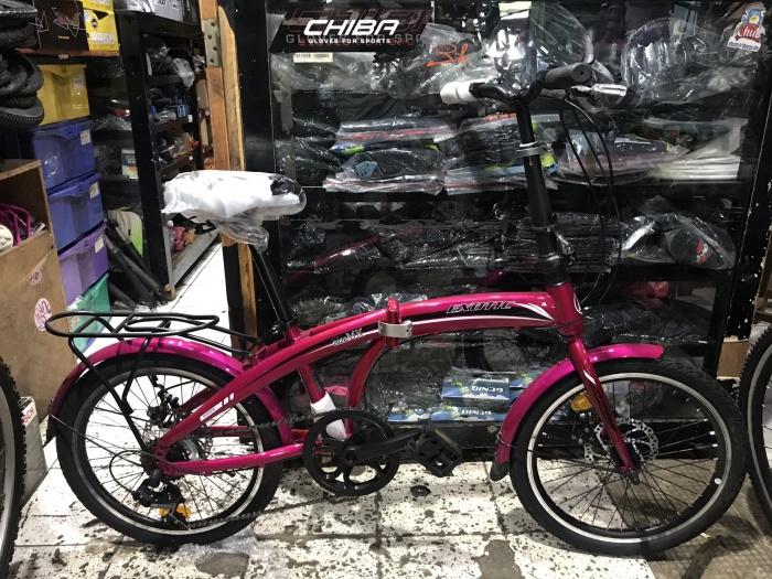 Jual Sepeda Lipat / Folding Bike Exotic 2026 MK Disc