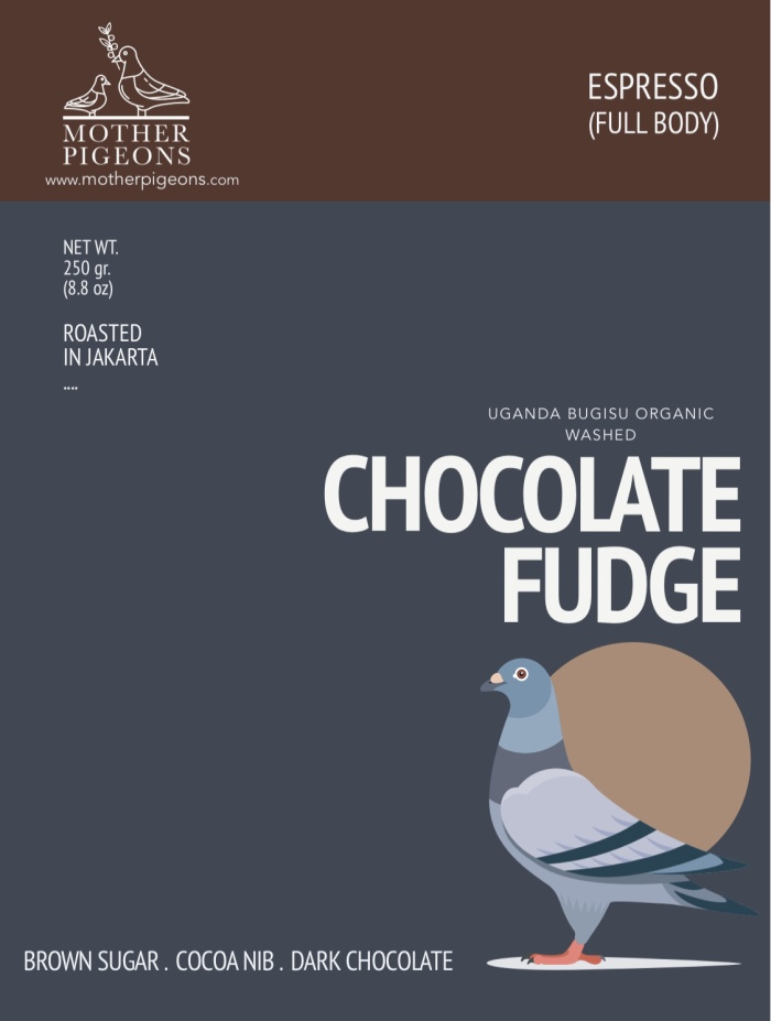 Foto Produk CHOCOLATE FUDGE (Uganda Bugisu Organic Washed) dari Motherpigeons Roaster