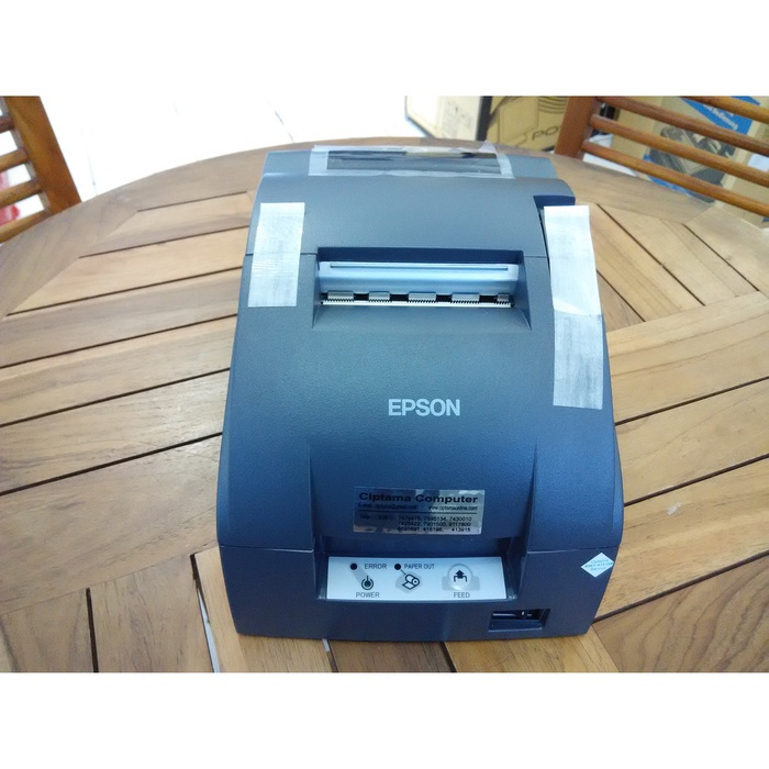Jual Mini Printer Epson TM-U220 manual cutt port usb/paralel - Rekondisi -  Kota Denpasar - TOTAL POS SYSTEM   Tokopedia