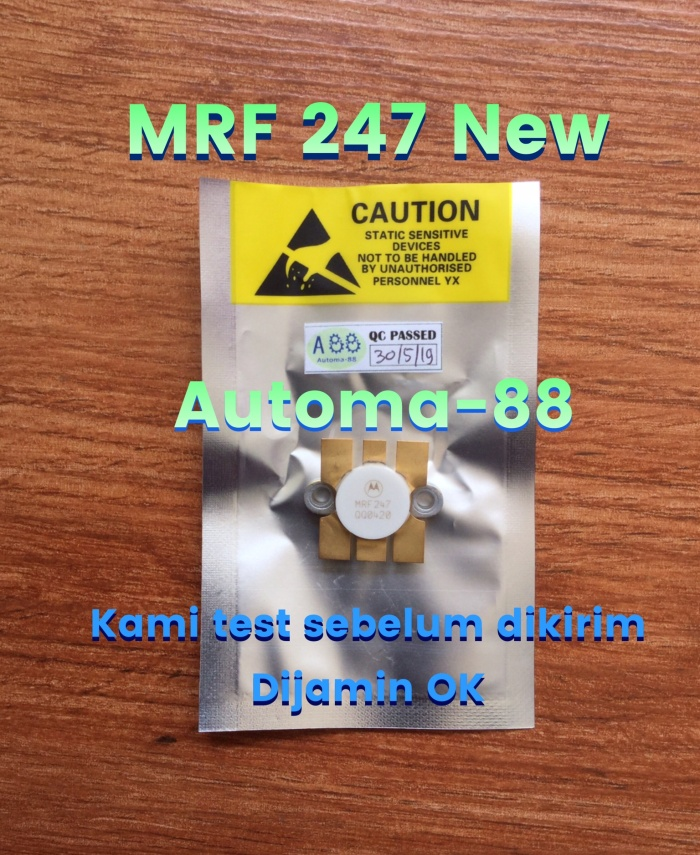 Jual MRF247 TRANSISTOR RF POWER AMPLIFIER MOTOROLA MRF 247 MRF-247 - Kab   Bekasi - Automa-88   Tokopedia