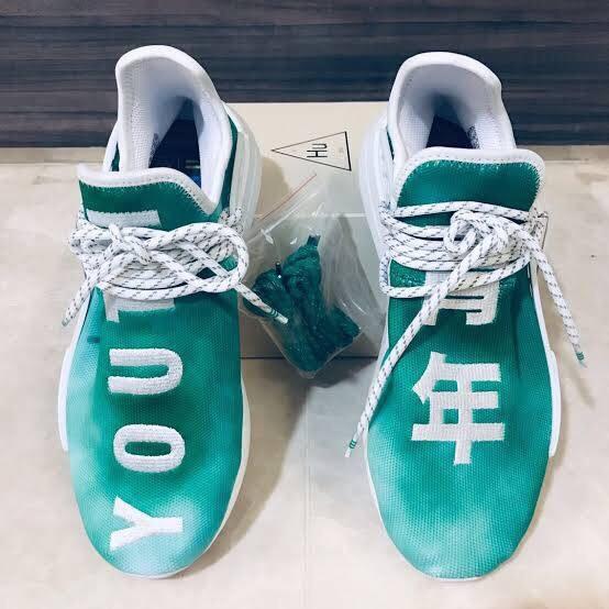 new products f9304 7ebe3 Jual Adidas NMD Human Race China Pack Green - Kota Bandung - Blackout  Sneakers Id | Tokopedia