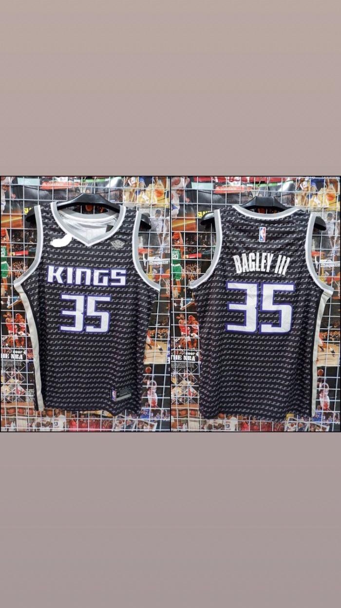brand new 3e05c 8dd4f Jual Jersey Basket Swingman NBA Sacramento Kings Marvin Bagley III hitam -  Kota Batam - Jersey Basket ID | Tokopedia