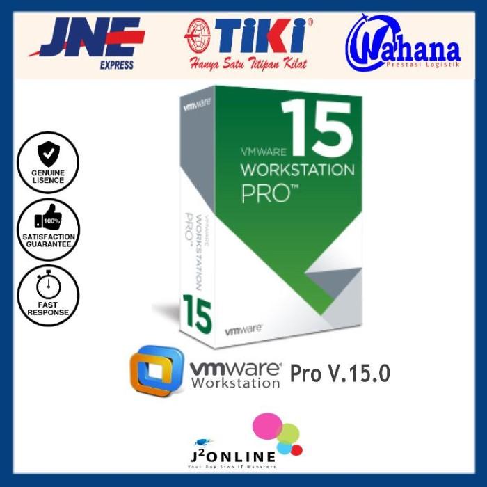 Jual License VMware Workstation 15 - DKI Jakarta - J2Online | Tokopedia