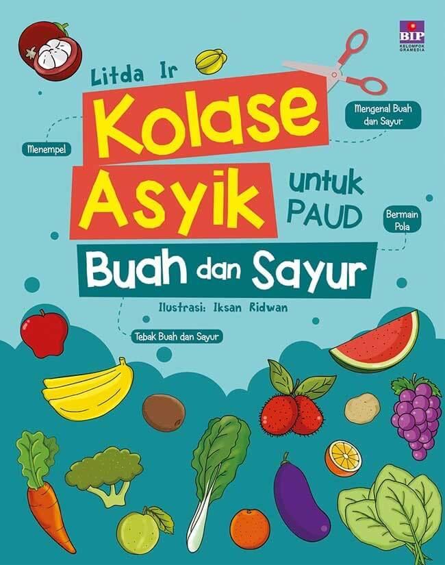 Jual Kolase Asyik Untuk Paud Buah Dan Sayur Kota Surabaya Litacingling Tokopedia