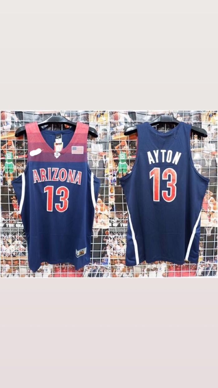 save off 9c7f3 c154c Jual Jersey Basket Swingman NBA NCAA Arizona Deandre Ayton navy - Kota  Batam - Jersey Basket ID | Tokopedia