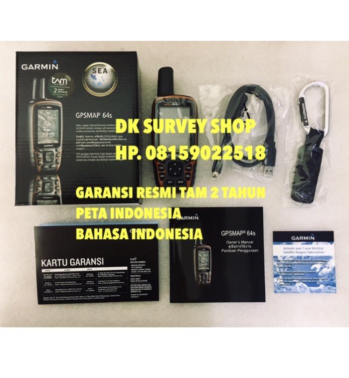 harga Promo gps garmin gpsmap 64s / 64 s / 64si / 64 si + peta indonesia Tokopedia.com