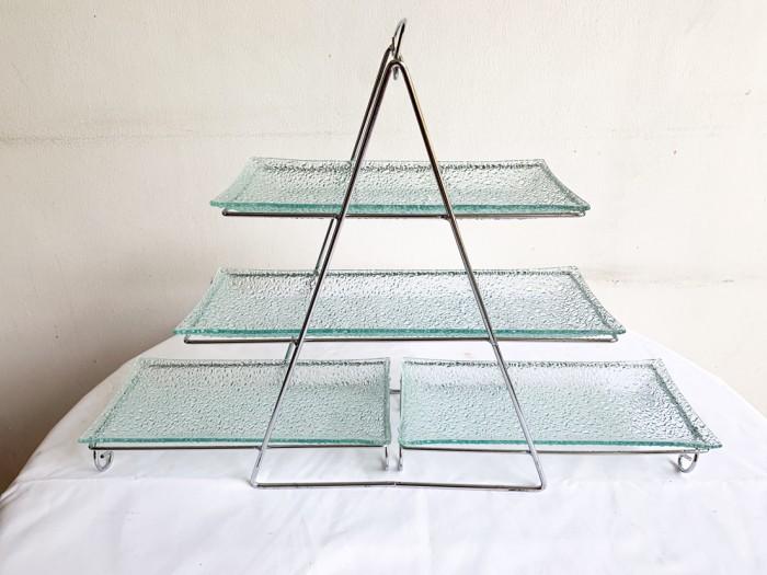 Foto Produk Serving Tray 3 level dari Rumah Tangga Sejahtera