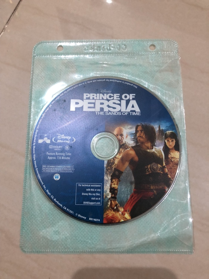 Jual Blu Ray Movie Prince Of Persia The Sands Of Time Region A Disc Only Kab Bekasi H2o Kaskus Tokopedia
