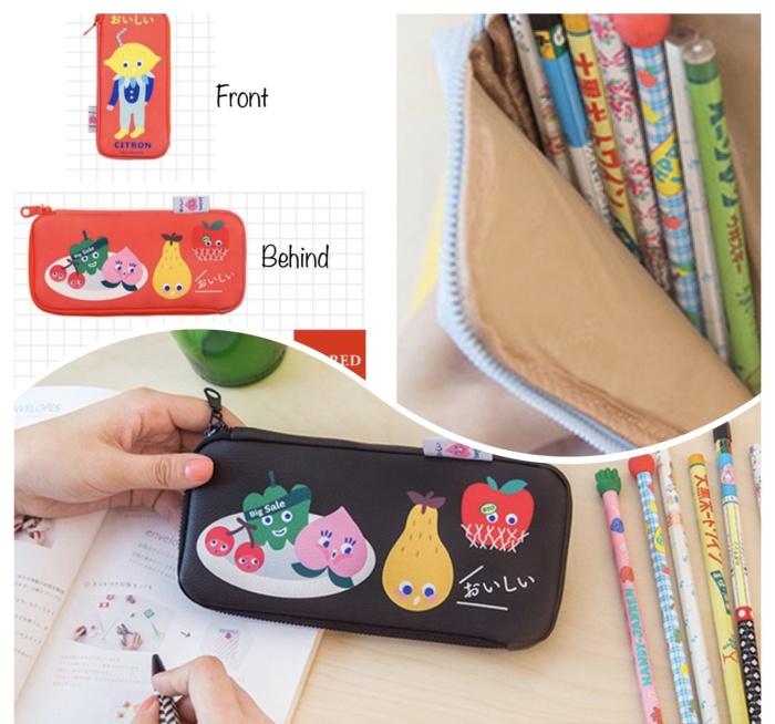 Foto Produk PANACHE Waterproof Korean BENTOY Pencil Case Kotak Pensil Tempat Pen dari PANACHE