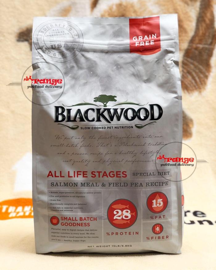 Foto Produk blackwood salmon meal grain free all life stages 6,8 kg dogfood dari orange petfood delivery