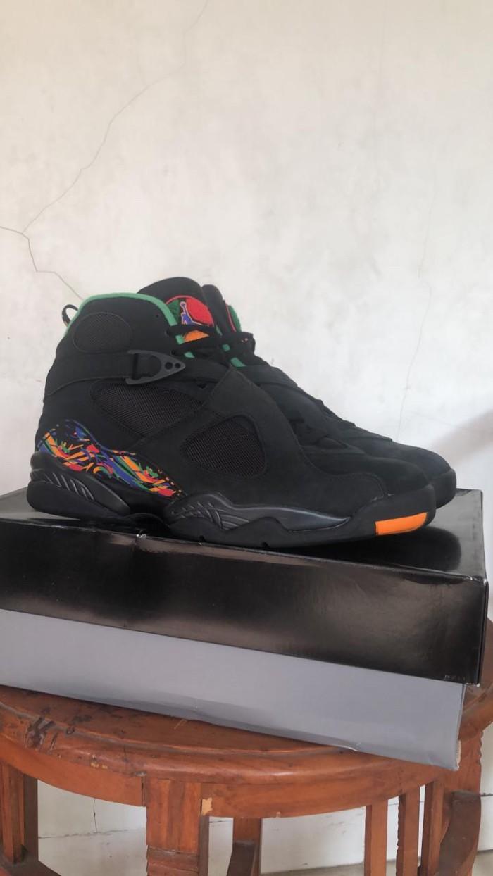 code promo c6c56 f9427 Jual BNIB Sepatu Basket Nike Air Jordan 8 Retro Black Light Concord Asli -  Kota Depok - NV Branded Bags   Tokopedia