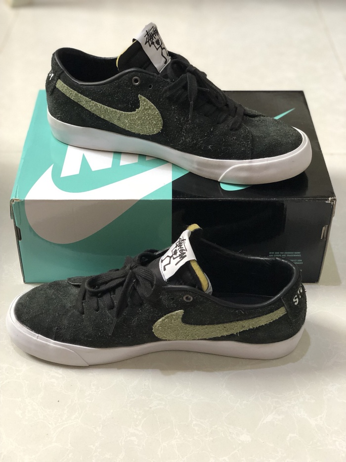 buy popular 3fdc1 fe099 Jual Nike SB Blazer Low x Stussy - Kota Batam - 549store | Tokopedia