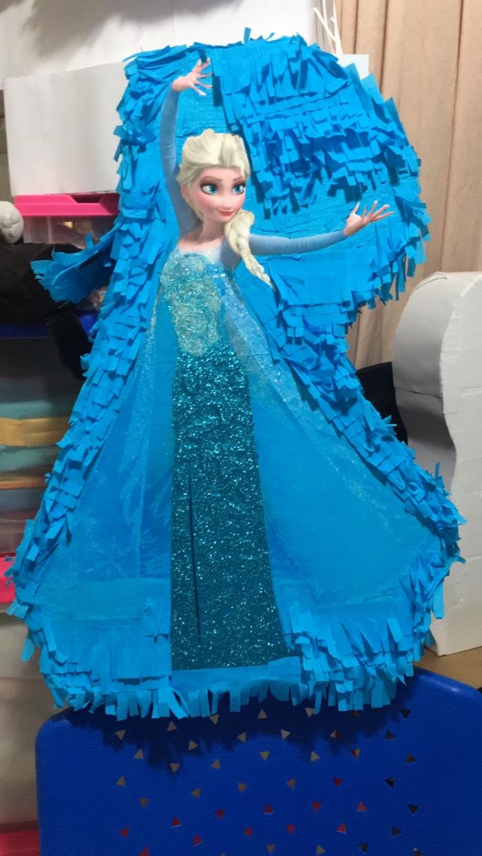 Jual Pinata Pukul Elsa Frozen 60cm Jakarta Barat The Kimchi