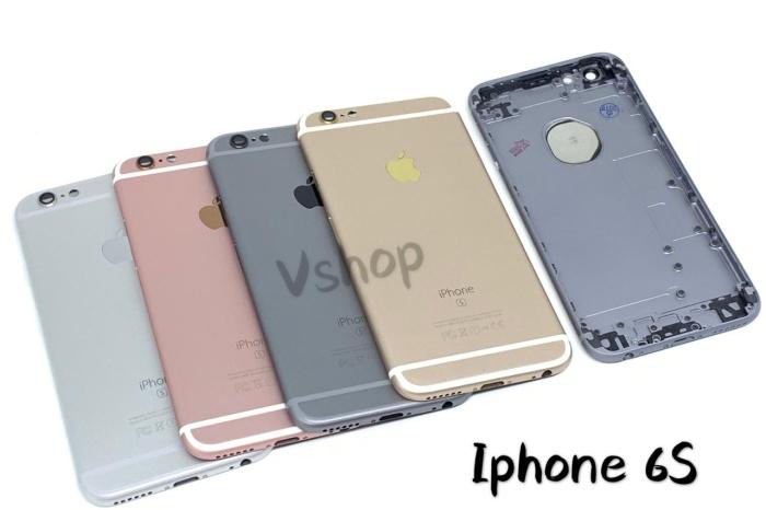Foto Produk CASING - HOUSING FULLSET IPHONE 6S - Grey dari vshop sparepart