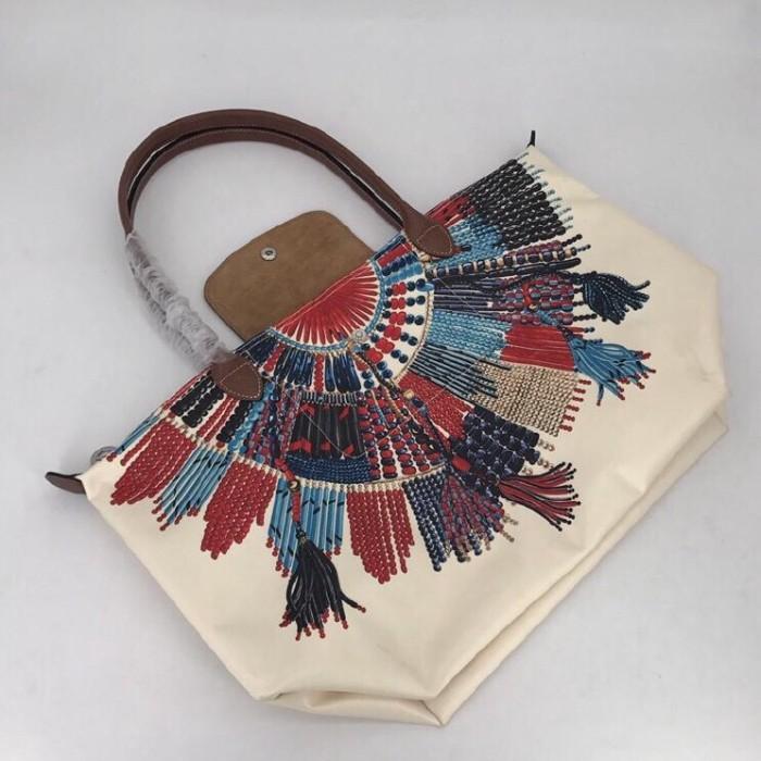 nouveau produit 928ec 5e3ec Jual Longchamp Le Pliage Collier Massai Tote Bag - Kab. Sleman - Branded  Bag By Summer | Tokopedia