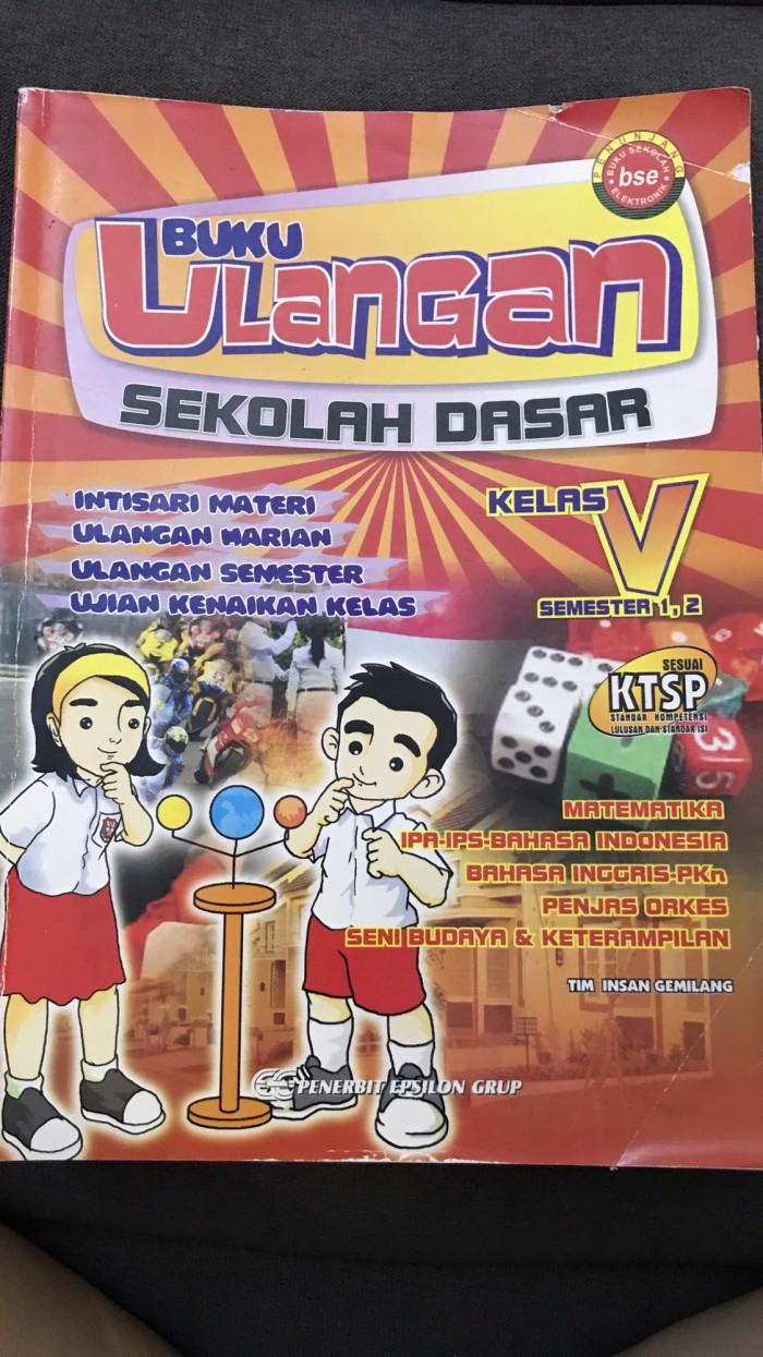 Jual Buku Ulangan SD Kelas 5 Jakarta Utara Queenstarz