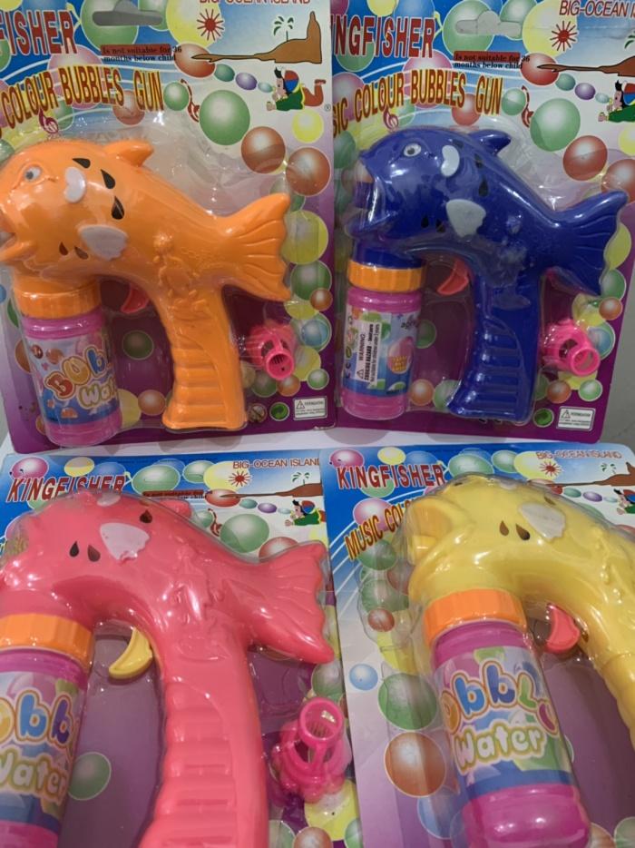 Foto Produk mainan bubble gun ( mainan gelembung ) / pistol gelembung 1 mata dari bintangjaya toys