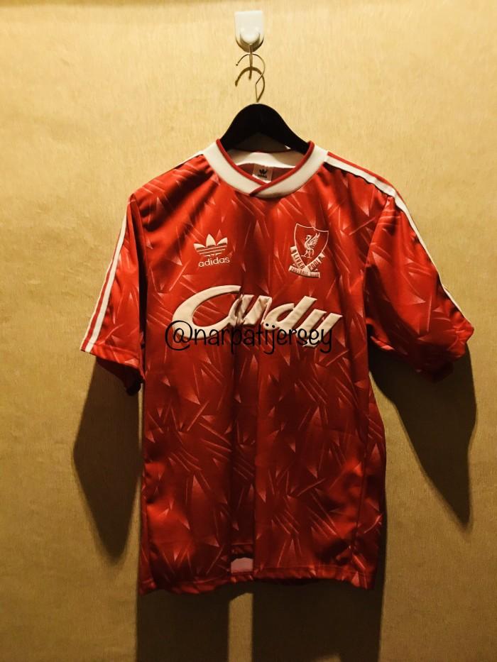 watch 046c1 086f9 Jual Jersey Liverpool Original Candy Beling 1st production 1988 - Kota  Medan - Narpati Jersey | Tokopedia