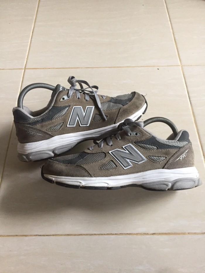 size 40 9a61b 0fe6b Jual Sepatu sneakers new balance NB 990 size 38,5 second original - Kota  Pontianak - Jon_Snow | Tokopedia