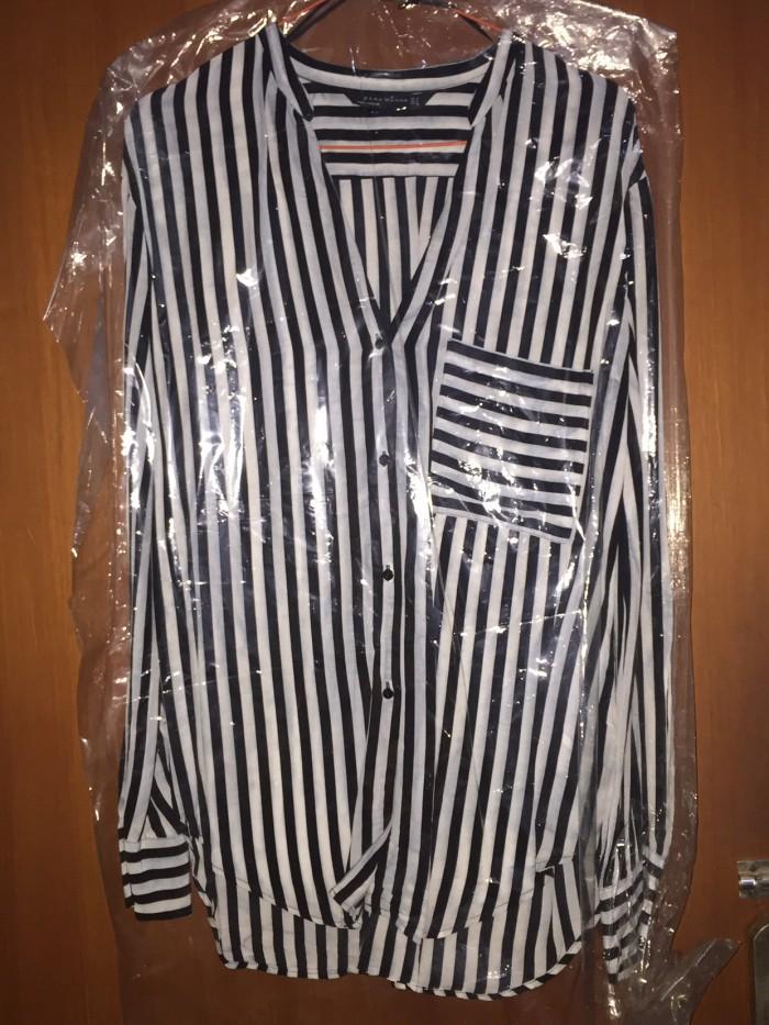 Foto Produk Atasan Zara Garis Hitam putih size S Besar dari Rinsky