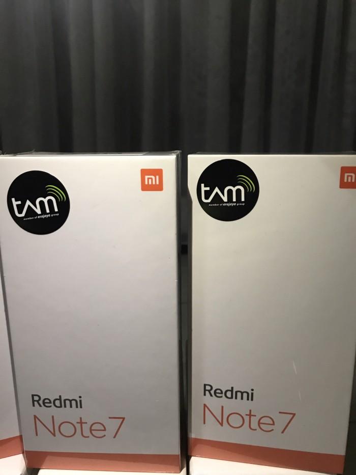 Foto Produk Xiaomi Redmi Note 7 4/64 Space Black Garansi Resmi TAM dari FKP Shop