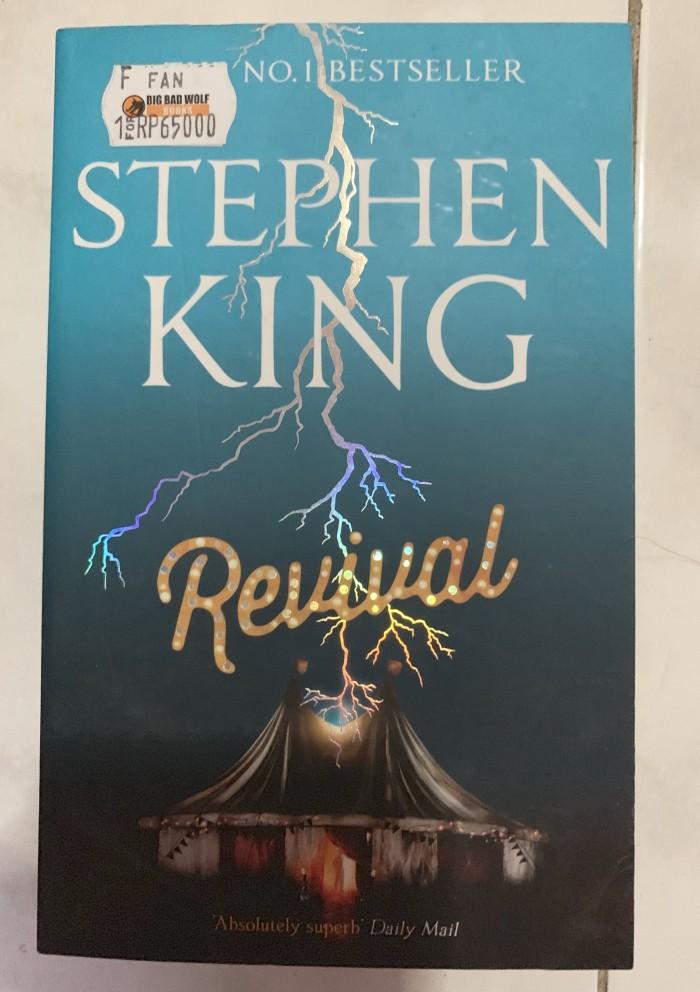 Jual Novel Bahasa Inggris Stephen King Revival Kota Malang 2nd Floor Tokopedia