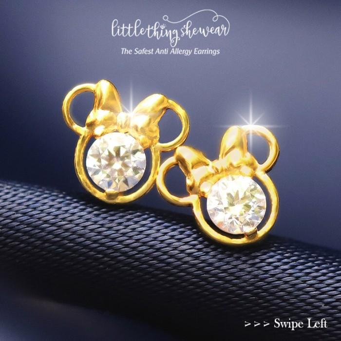 Foto Produk Anting Littlethingshewear Minnie Series dari littlethingshewearmalang