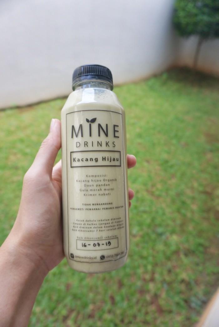 Foto Produk MINE drinks Kacang Hijau 500ml - Minuman Sehat/ Asi Booster/ Ibu Ham dari Piccolina Shop