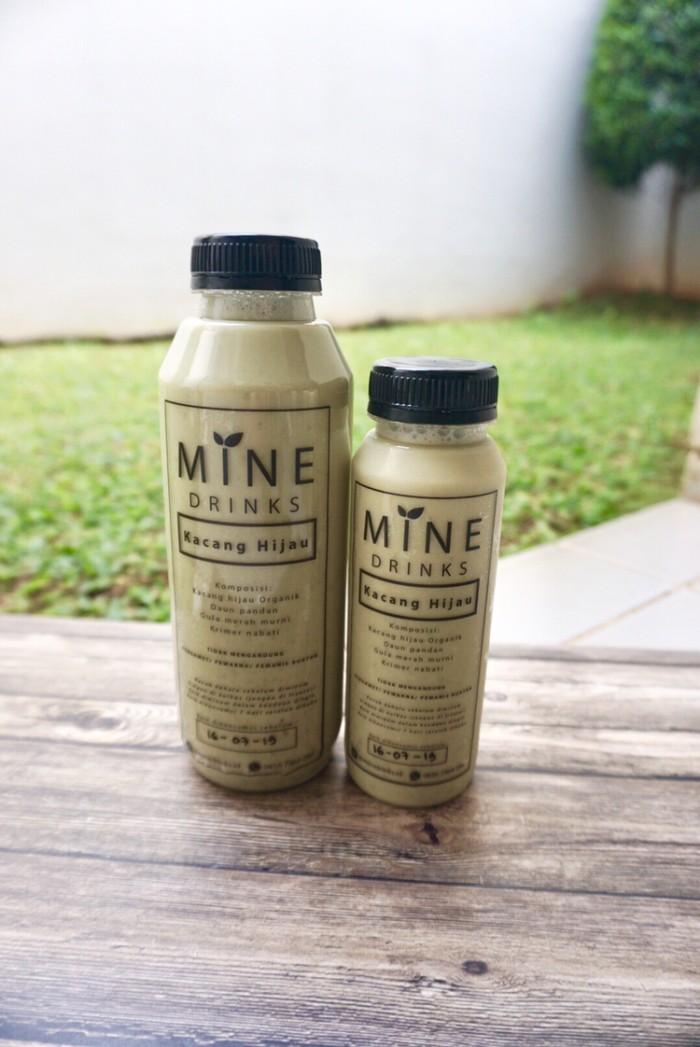 Foto Produk MINE drinks Kacang Hijau 250 ml - Minuman Sehat/ asi booster/ dari Piccolina Shop