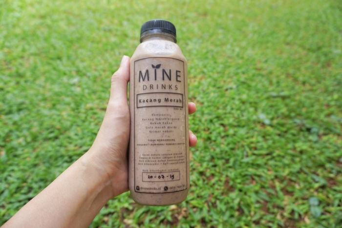 Foto Produk MINE drinks Kacang Merah 500ml - Minuman sehat/ asi booster dari Piccolina Shop