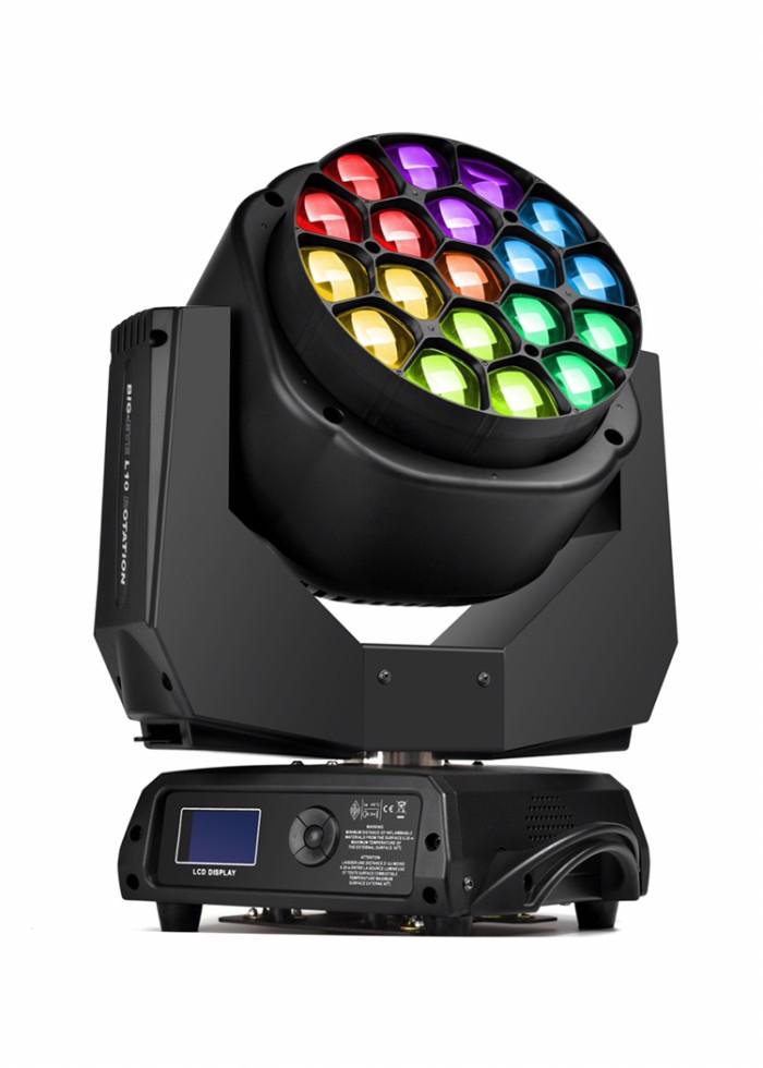 Foto Produk BIG EYE 19x15W RGBW OSRAM LED L10R BEE EYE LITELEES incl flightcase dari DUNIA LAMPU LIGHTING
