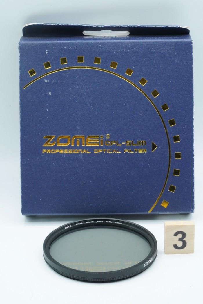 harga Zomei lens filter - slim cpl 67mm circular polarizer 67 mm c-pl dw1 Tokopedia.com