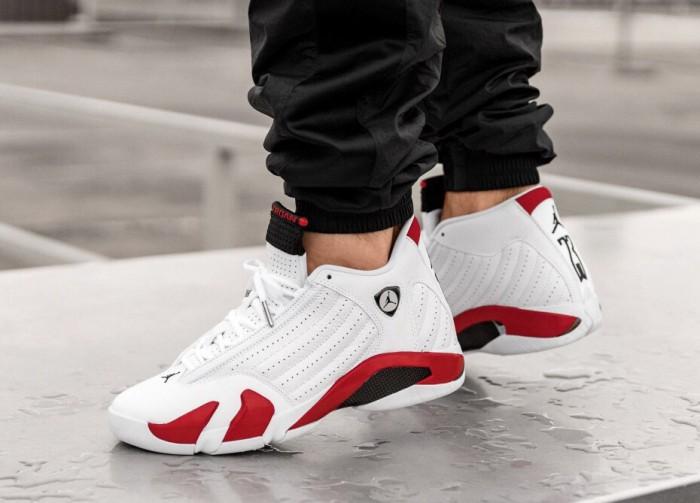 sneakers finest selection sells Jual Sepatu Basket - Nike Air Jordan 14 Retro White Red - PRM - Kab.  Tangerang - csneakers   Tokopedia