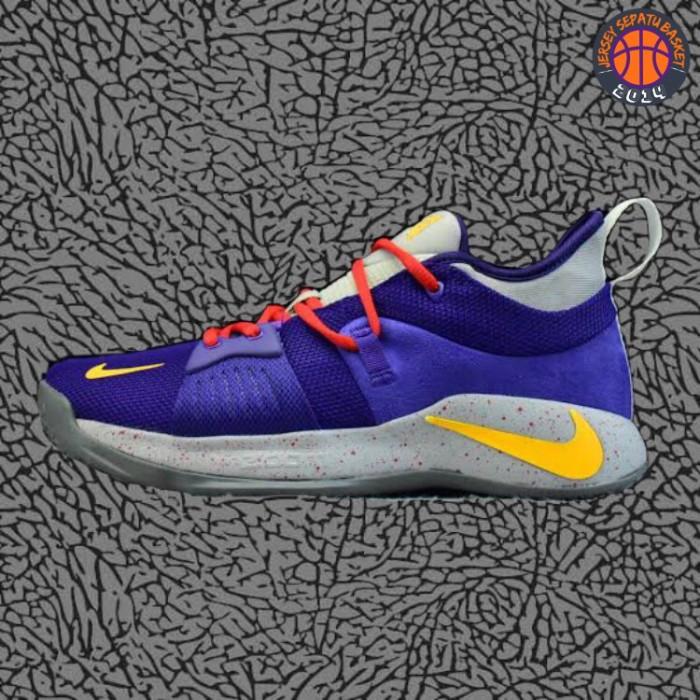 new style 00e7d 6f15e Jual Sepatu Basket Sneakers Nike Paul George 2 PG Purple Red Pria Wanita -  Kota Batam - Jersey Basket ID | Tokopedia