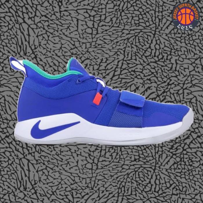 buy online 0de47 cd6c2 Jual Sepatu Basket Sneakers Nike Paul George 2.5 PG Fortnite Blue Pria -  Kota Batam - Jersey Basket ID | Tokopedia