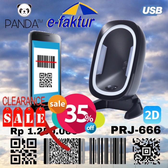 Foto Produk Omni Directional 2D Panda PRJ870 Imager Area Barcode Scanner Duduk USB dari PANDA RETAIL SOLUTIONS