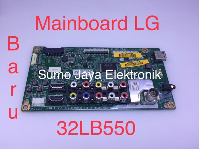 Foto Produk MB 32LB550 mainboard LG 32 LB 550 modul TV LG 32LB550 A mesin TV dari Sumo Jaya Elektronik